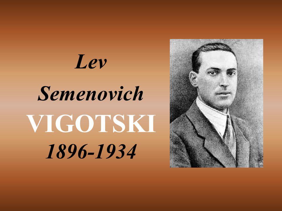 Lev Semenovich VIGOTSKI 1896-1934