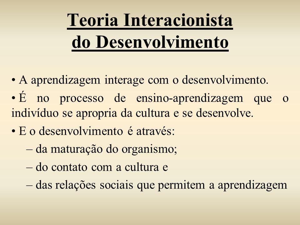Teoria Interacionista do Desenvolvimento