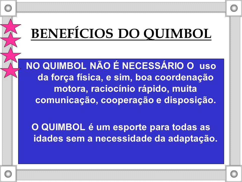 BENEFÍCIOS DO QUIMBOL