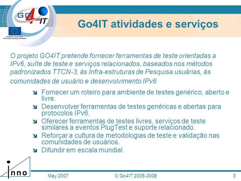 Go4IT atividades e serviços