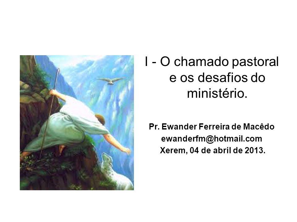 Pr. Ewander Ferreira de Macêdo