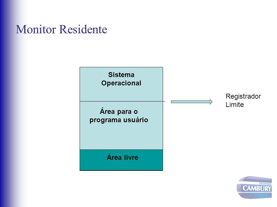 Área para o programa usuário