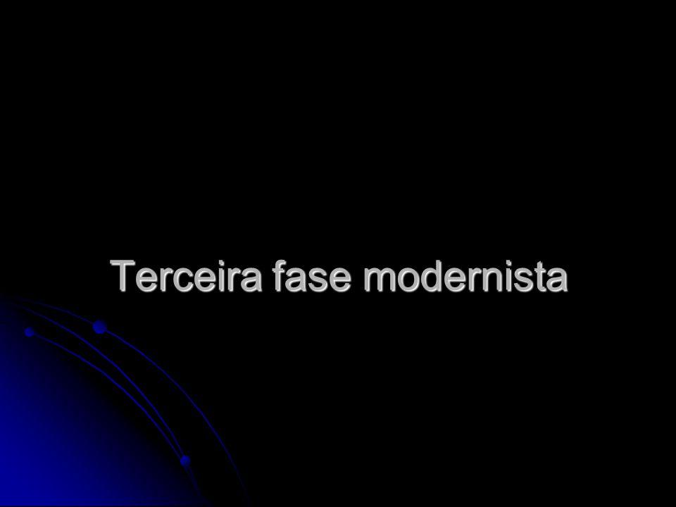 Terceira fase modernista