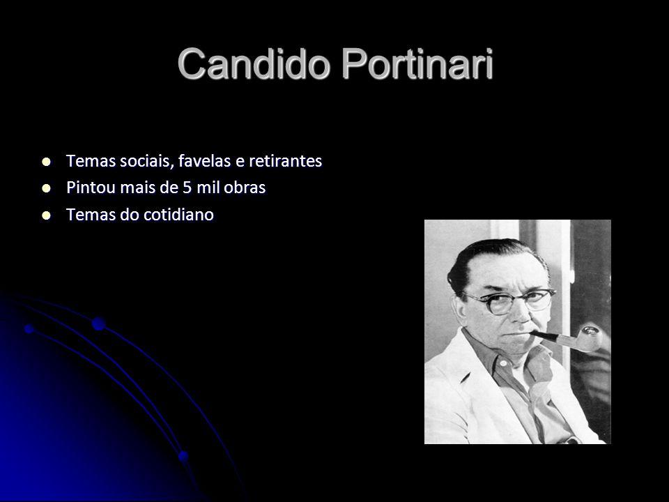 Candido Portinari Temas sociais, favelas e retirantes