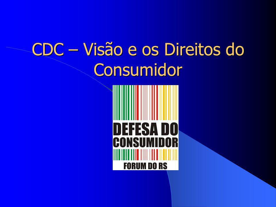 CDC – Visão e os Direitos do Consumidor