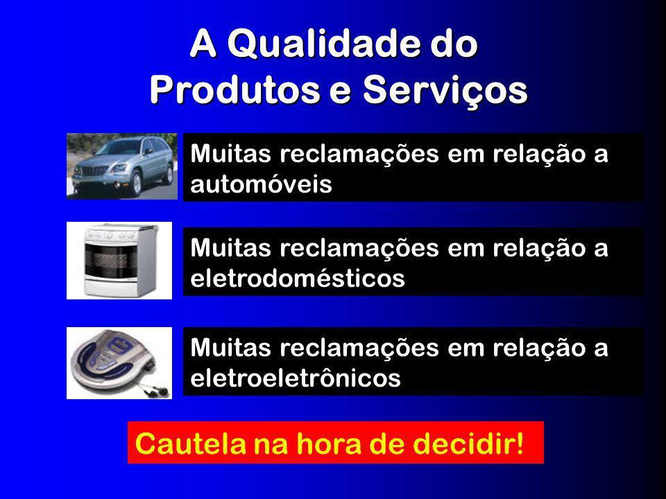 A Qualidade do Produtos e Serviços