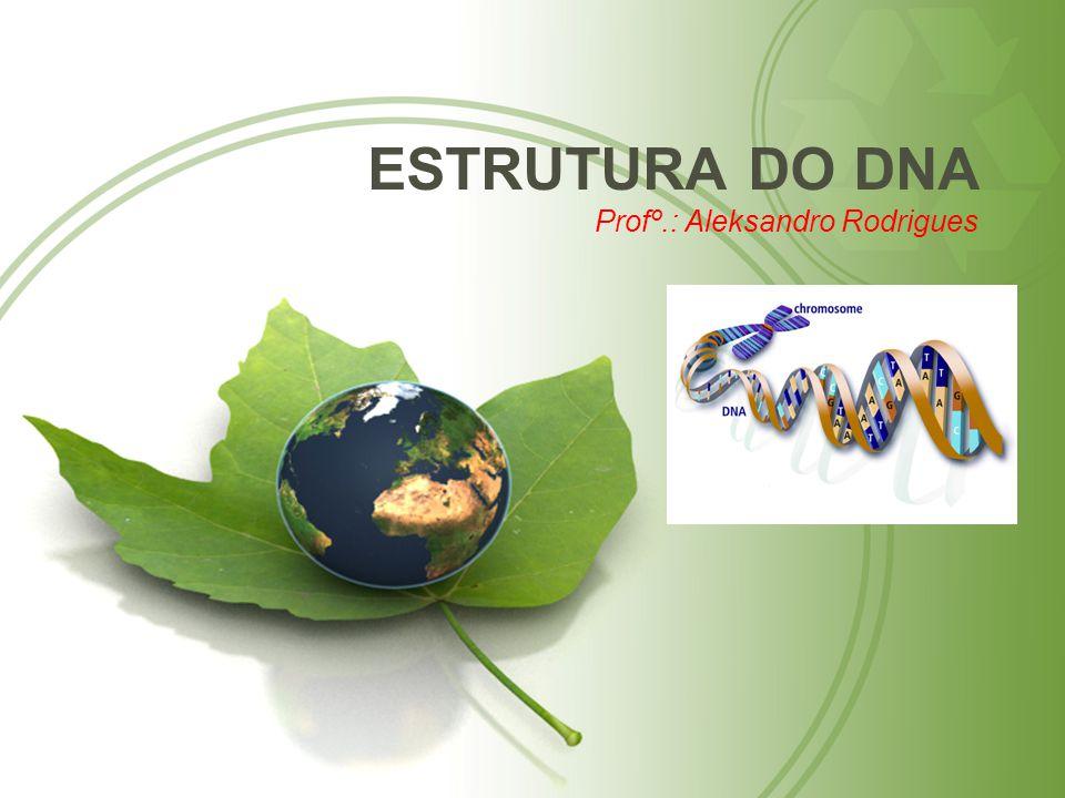 ESTRUTURA DO DNA Profº.: Aleksandro Rodrigues