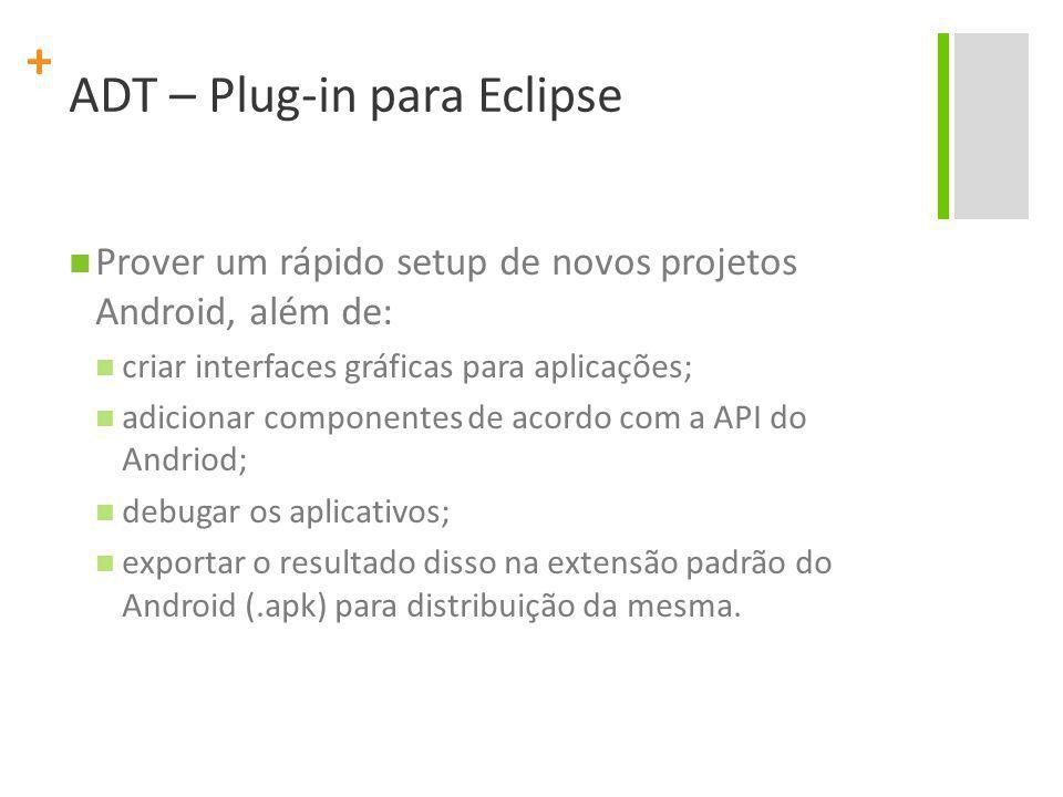ADT – Plug-in para Eclipse