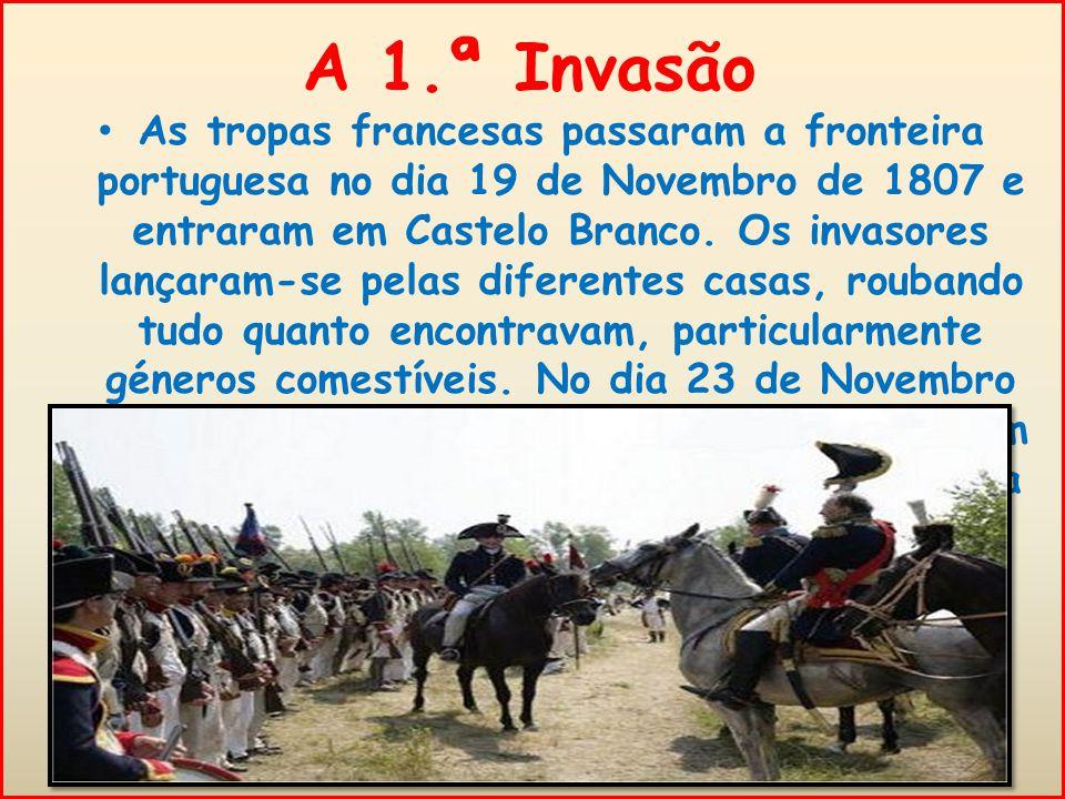 A 1.ª Invasão