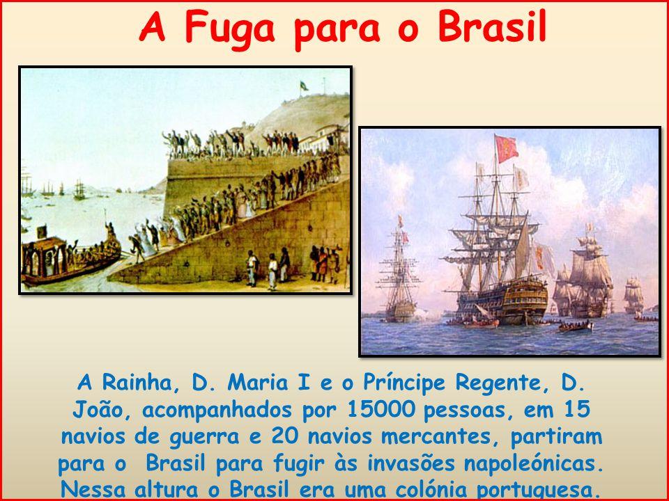 A Fuga para o Brasil