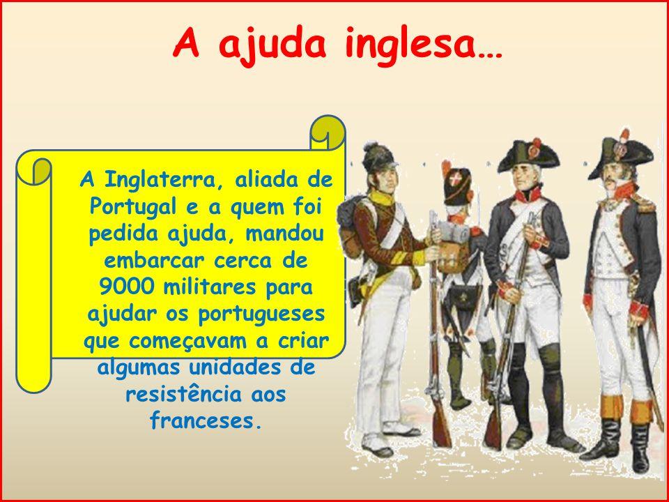 A ajuda inglesa…