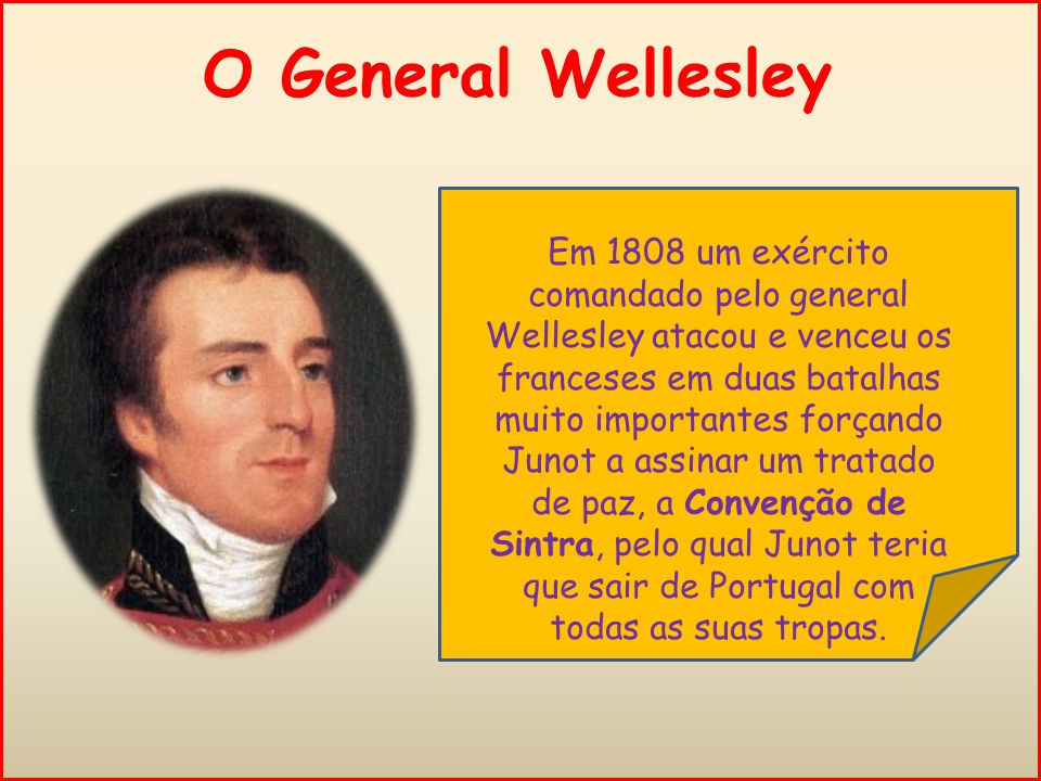 O General Wellesley