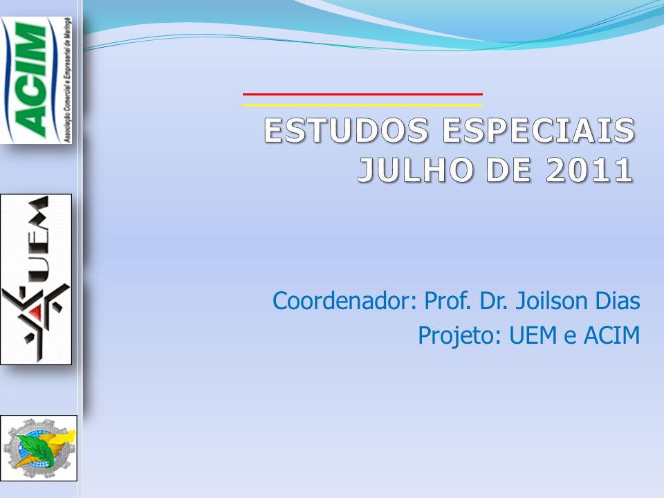 ESTUDOS ESPECIAIS JULHO DE 2011