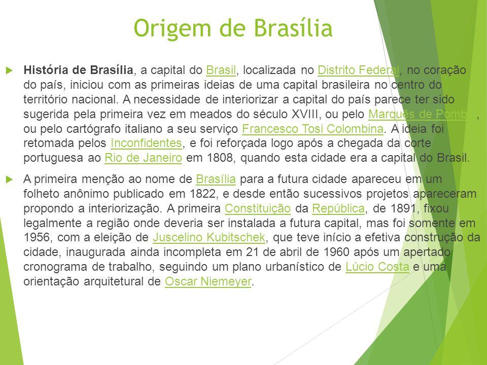 Origem de Brasília