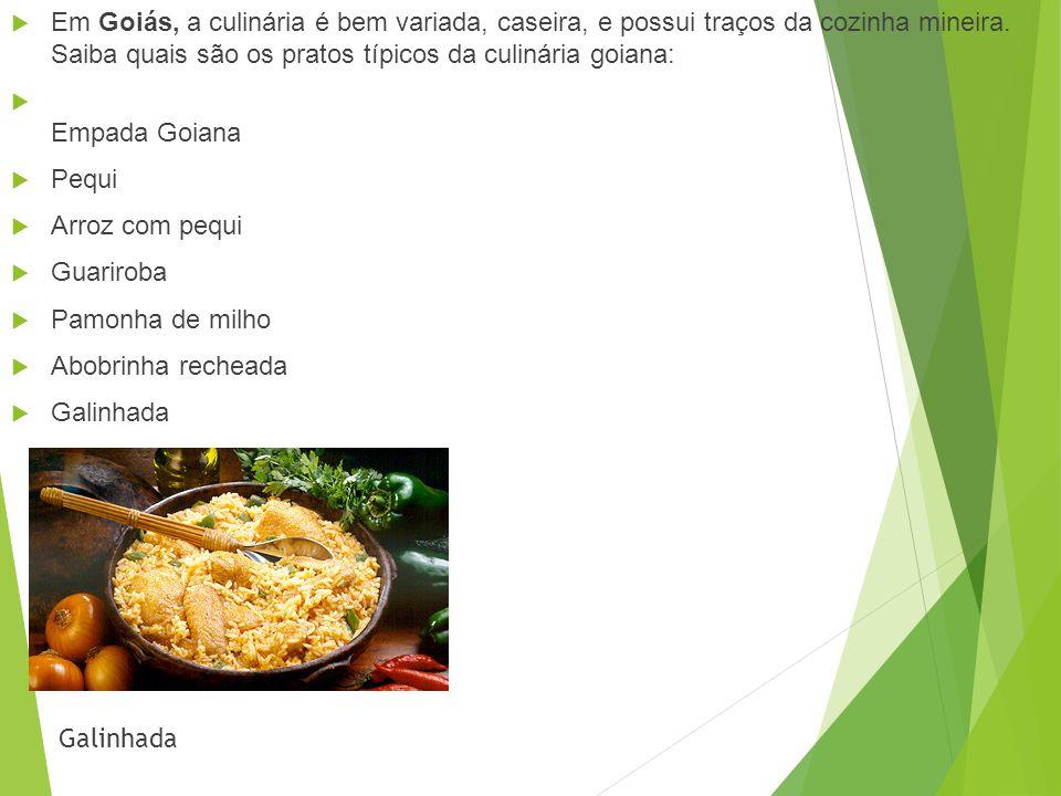 Em Goiás, a culinária é bem variada, caseira, e possui traços da cozinha mineira. Saiba quais são os pratos típicos da culinária goiana: