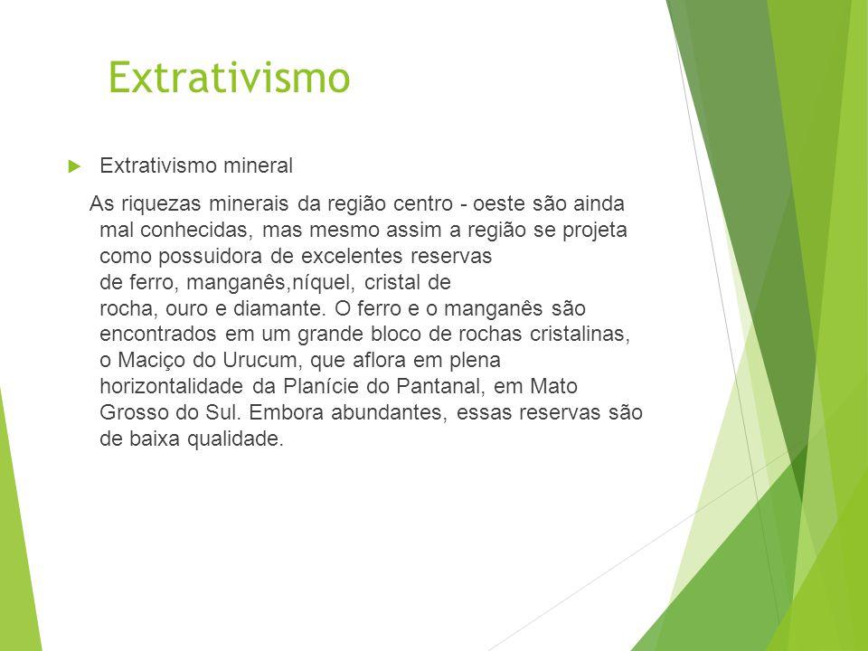 Extrativismo Extrativismo mineral