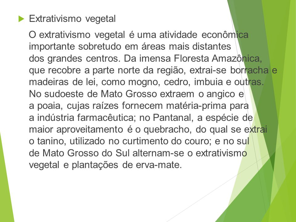 Extrativismo vegetal