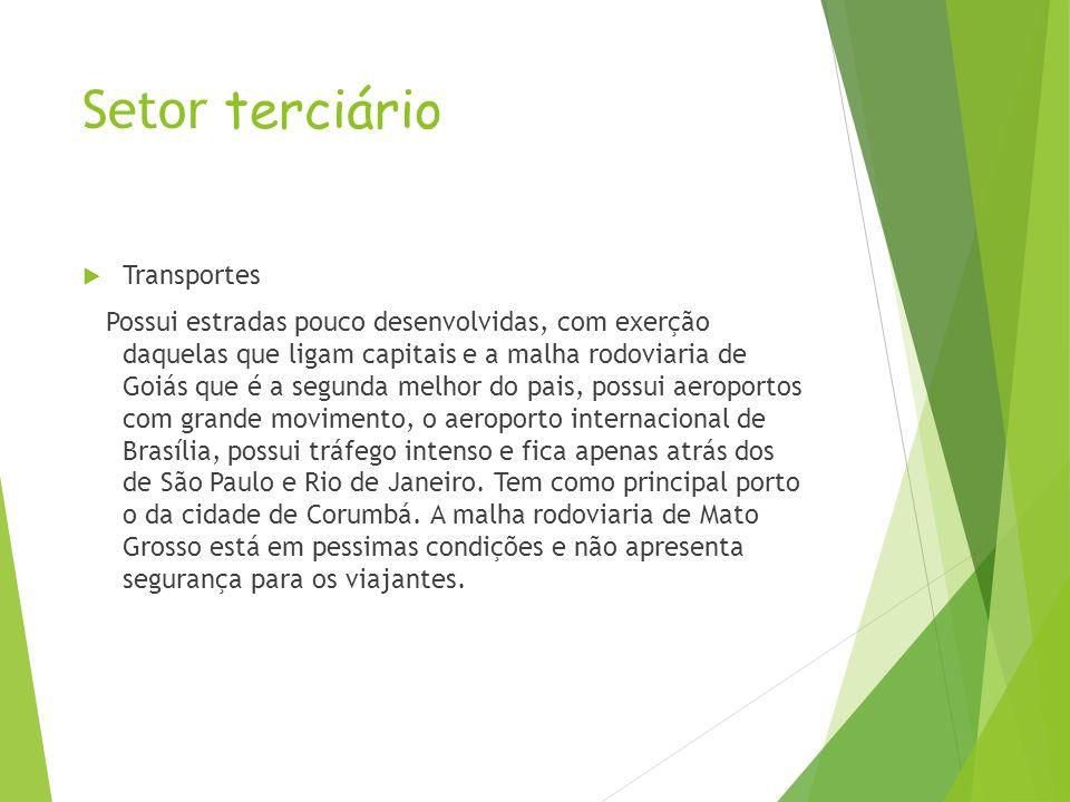 Setor terciário Transportes