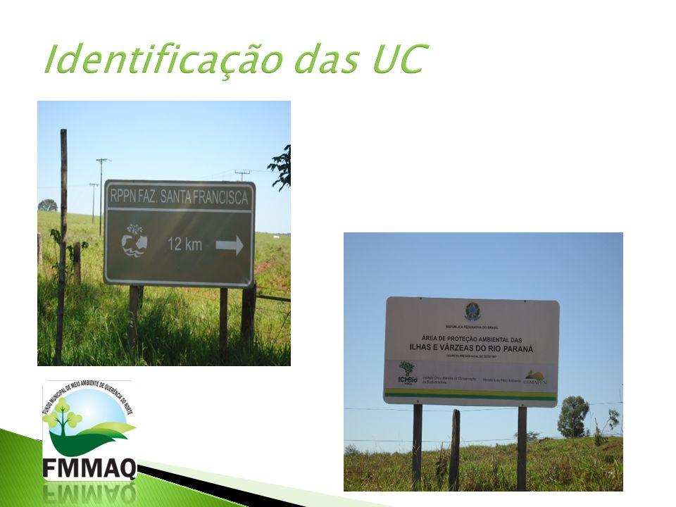 Identificação das UC