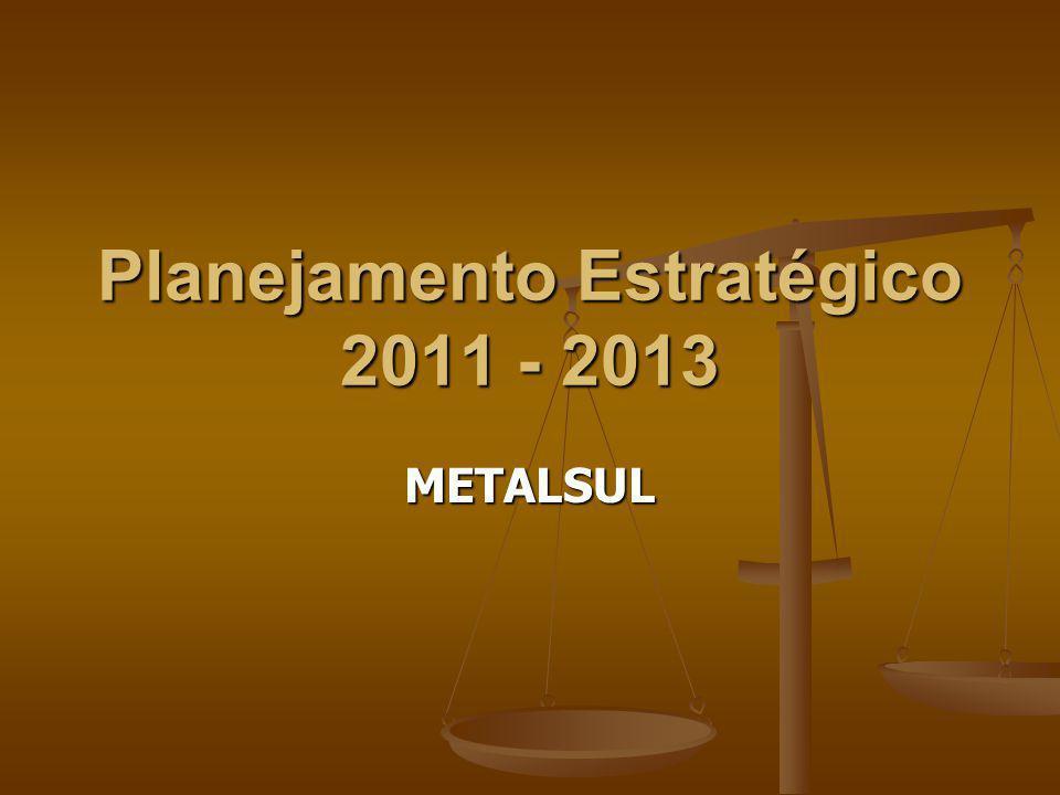 Planejamento Estratégico 2011 - 2013
