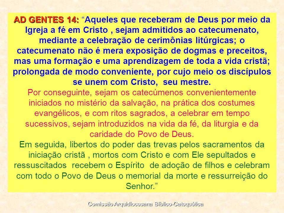 Comissão Arquidiocesana Bíblico-Catequética