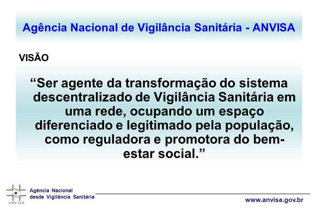 Agência Nacional de Vigilância Sanitária - ANVISA