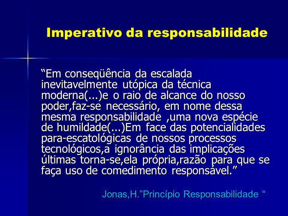 Imperativo da responsabilidade