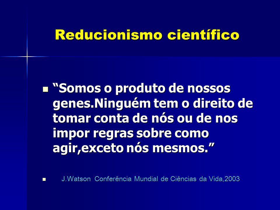 Reducionismo científico