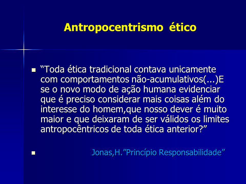 Antropocentrismo ético
