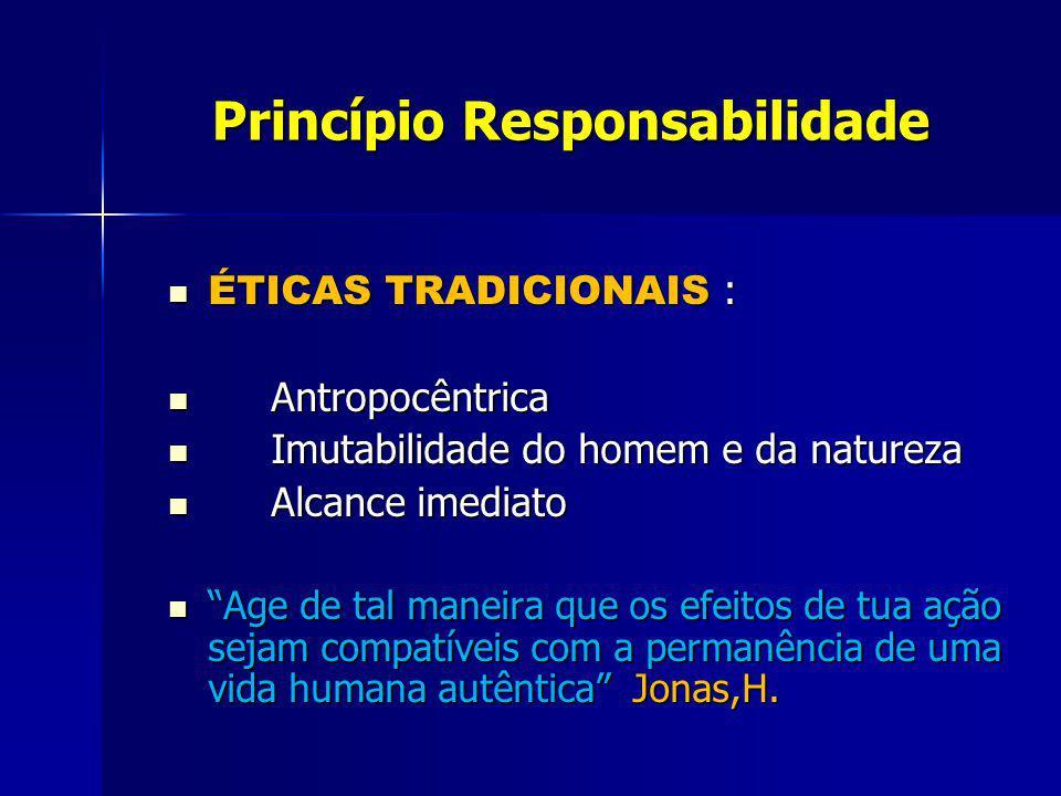 Princípio Responsabilidade