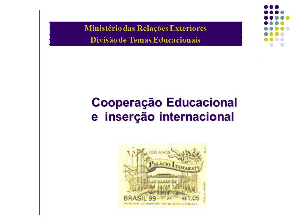 Cooperação Educacional e inserção internacional
