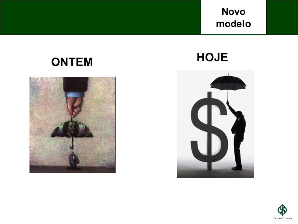 Novo modelo HOJE ONTEM