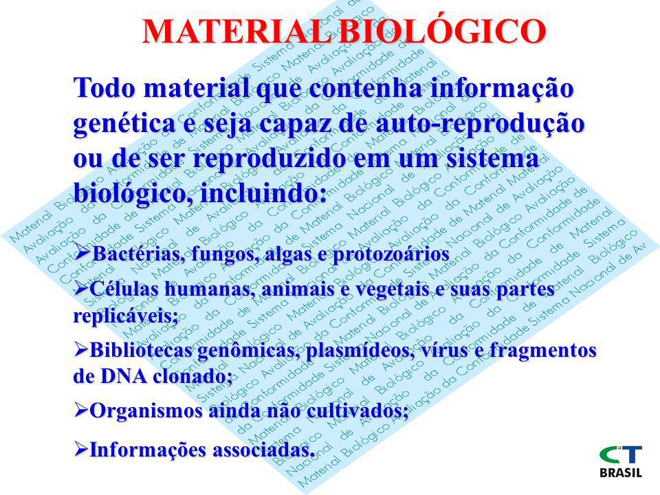 MATERIAL BIOLÓGICO