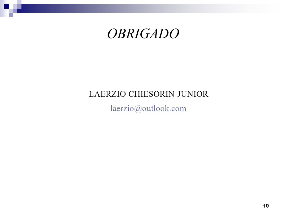 LAERZIO CHIESORIN JUNIOR