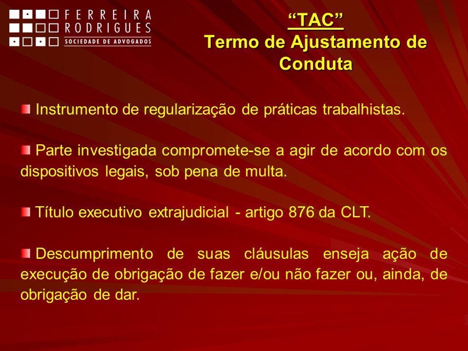 TAC Termo de Ajustamento de Conduta