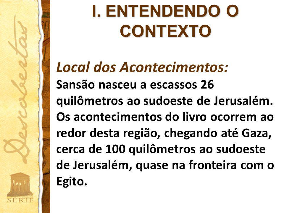 I. ENTENDENDO O CONTEXTO