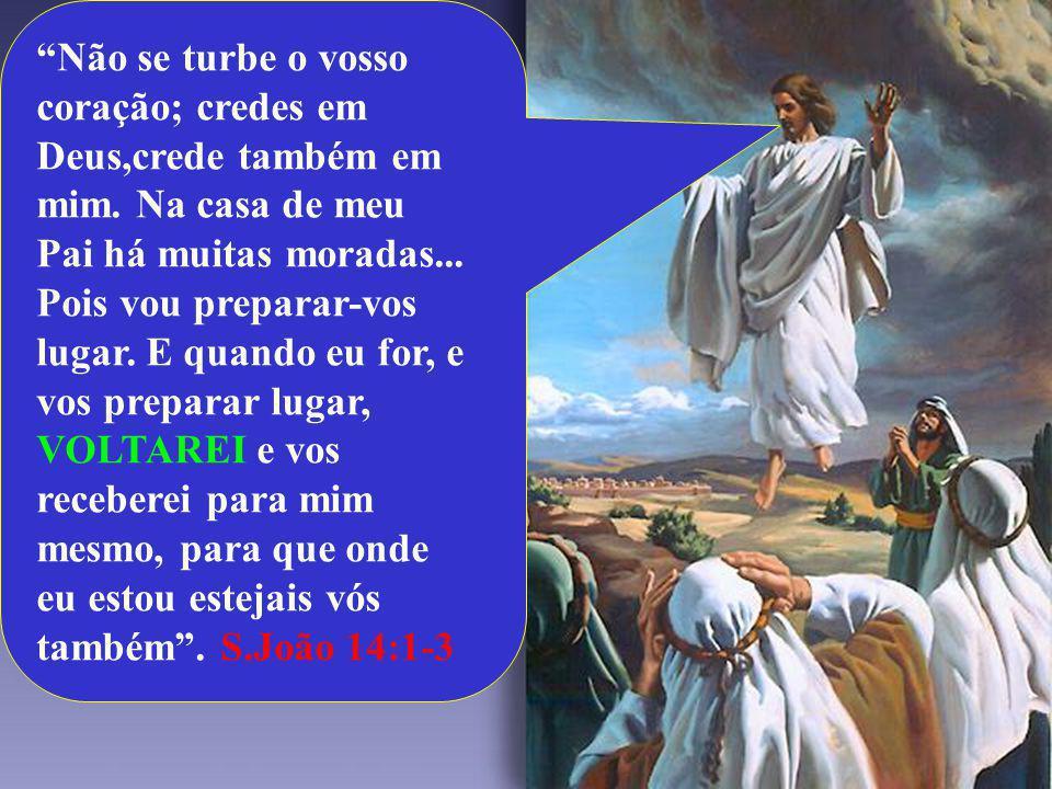 Não se turbe o vosso coração; credes em Deus,crede também em mim