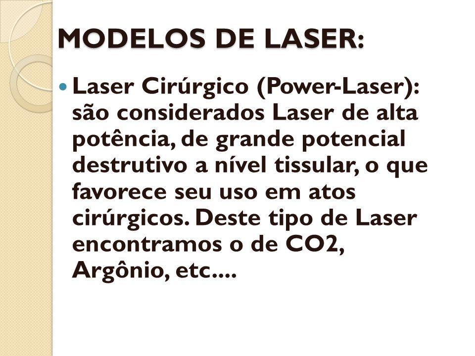 MODELOS DE LASER: