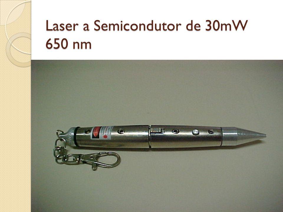 Laser a Semicondutor de 30mW 650 nm