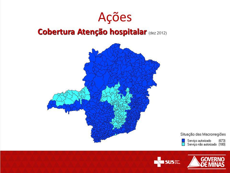 Ações Cobertura Atenção hospitalar (dez 2012)