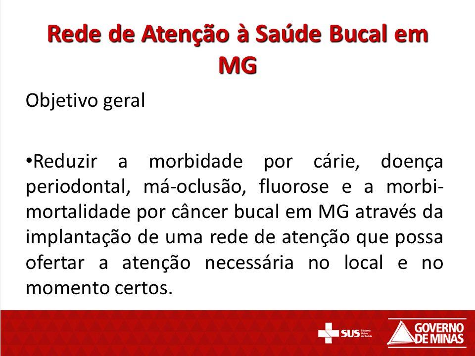 Rede de Atenção à Saúde Bucal em MG