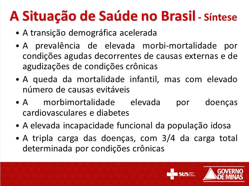 A Situação de Saúde no Brasil - Síntese