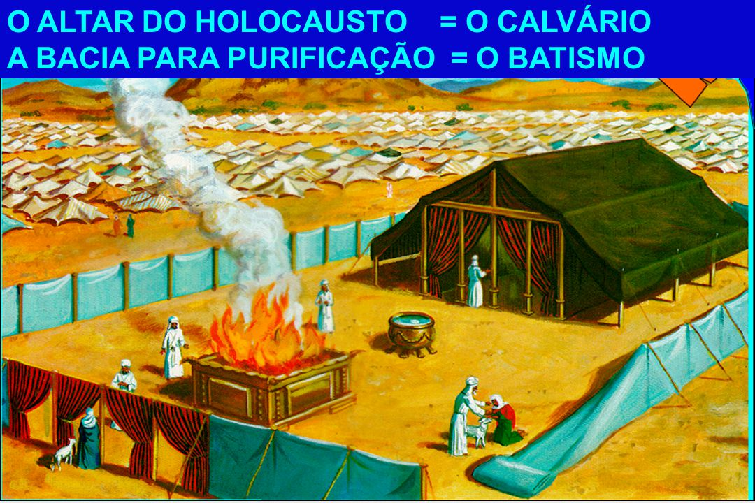 O ALTAR DO HOLOCAUSTO = O CALVÁRIO