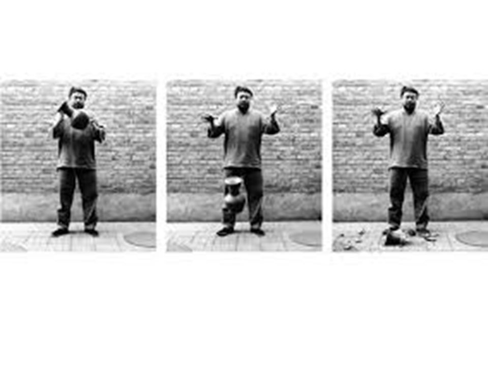 Dropping a Han Dynasty Urn, 1995 - Ai Weiwei and The Unilever Series