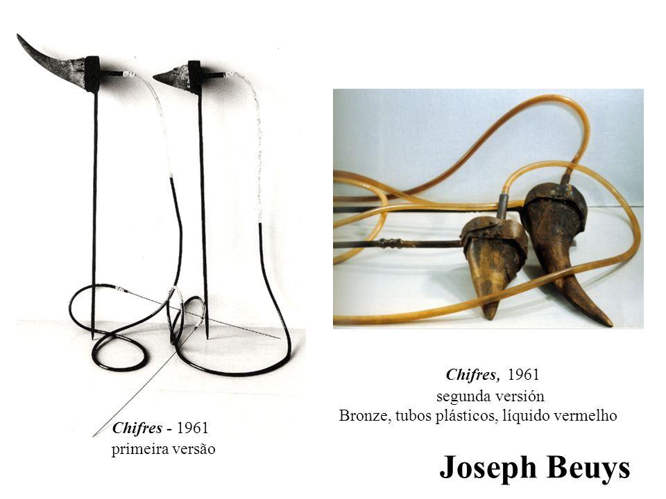 Joseph Beuys Chifres, 1961 segunda versión