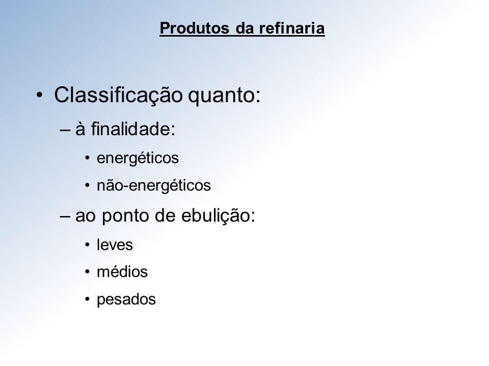 Classificação quanto: