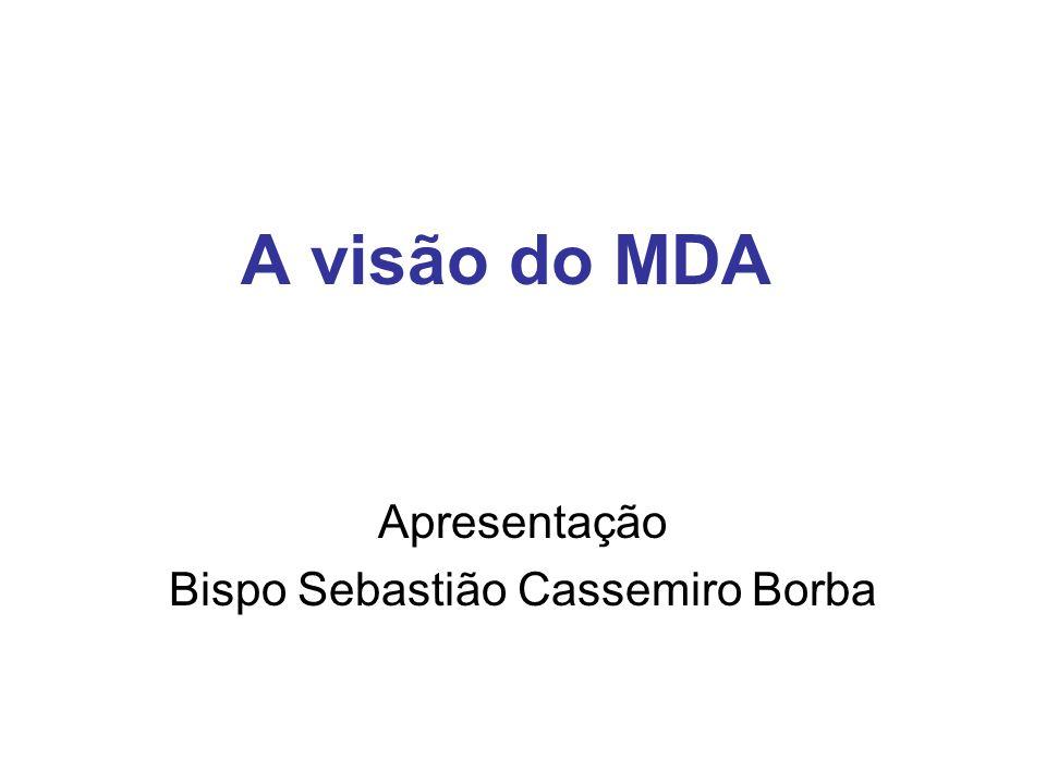 Apresentação Bispo Sebastião Cassemiro Borba