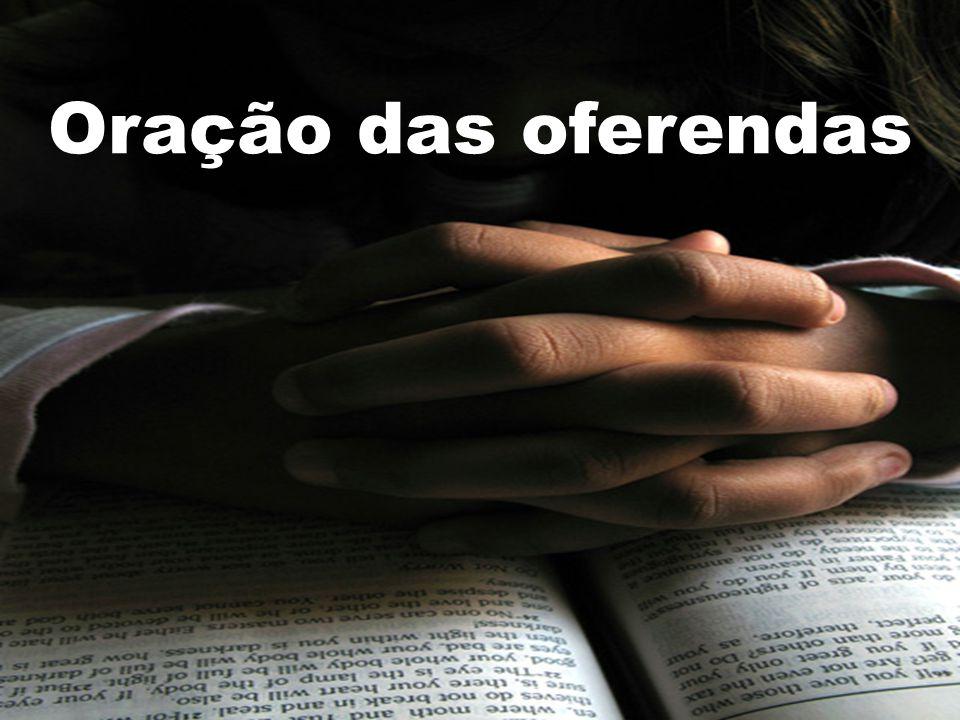 Oração das oferendas 112