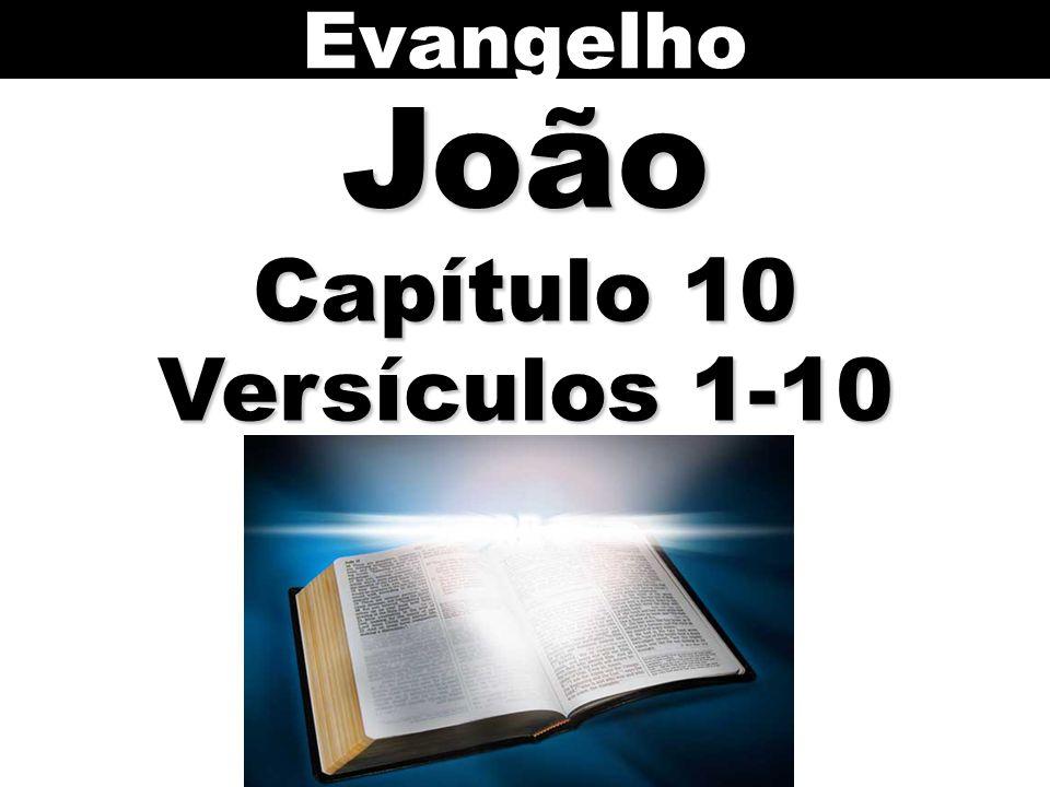 Evangelho João Capítulo 10 Versículos 1-10 73