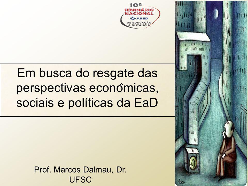Prof. Marcos Dalmau, Dr. UFSC